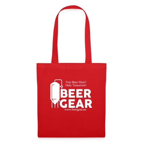Beer Gear free Beer White - Stoffveske