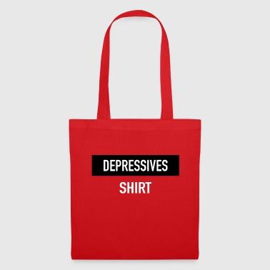 Depressives Shirt - Stoffbeutel