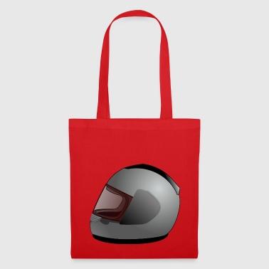 motorcycle helmet - Tote Bag