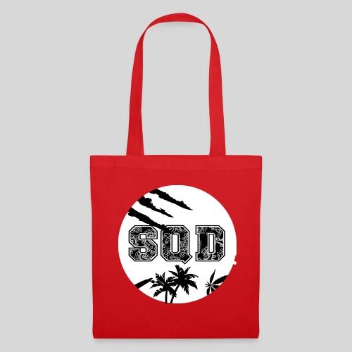 SQD tshirt logo wit - Tas van stof