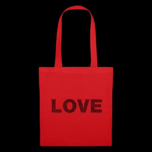 love - Torba materiałowa