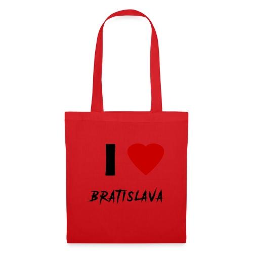 I ♥ Bratislava - Stoffbeutel