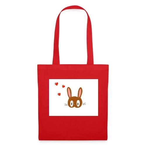 Le lapin amoureux - Tote Bag