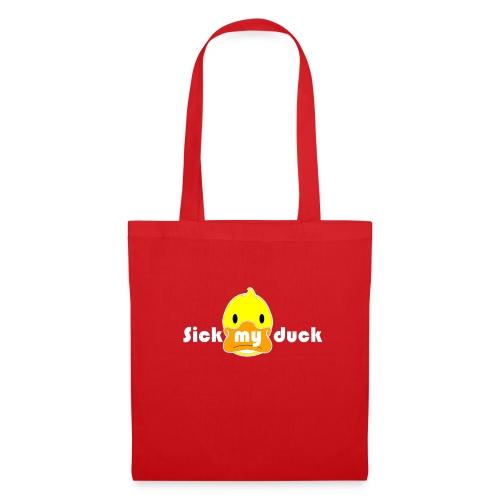 Mon crypto Caro duck sans fond COULEUR - Tote Bag