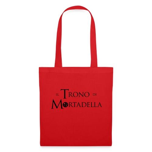 T-shirt donna Il Trono di Mortadella - Borsa di stoffa