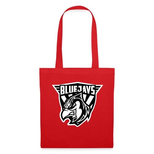 BLUEJAYS Logo schwarz / weiß - Stoffbeutel