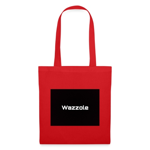 Wazzole plain blk back - Tote Bag