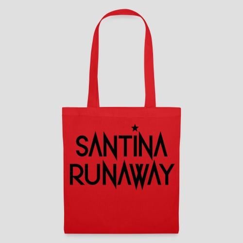 DJ Santina Runaway - Logo - Black - Tote Bag