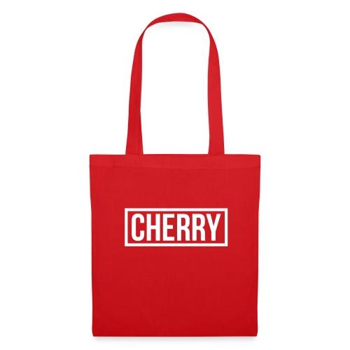 Cherry White - Tas van stof