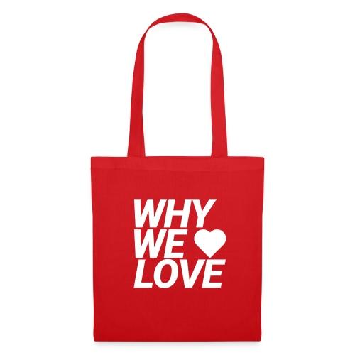 WHY WE LOVE logo web - Bolsa de tela