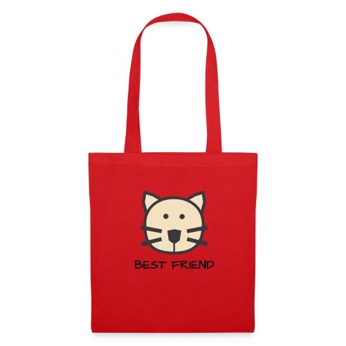 Katzen - Best Friends - Stoffbeutel