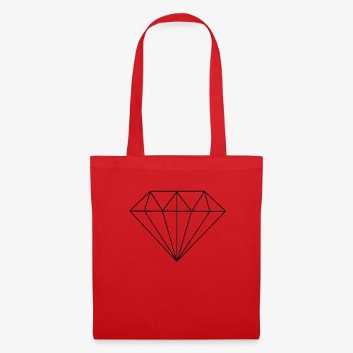 diamant - Stoffbeutel