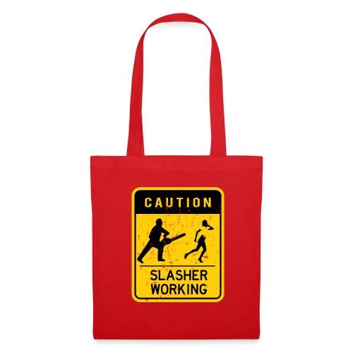 Slasher working - Tote Bag