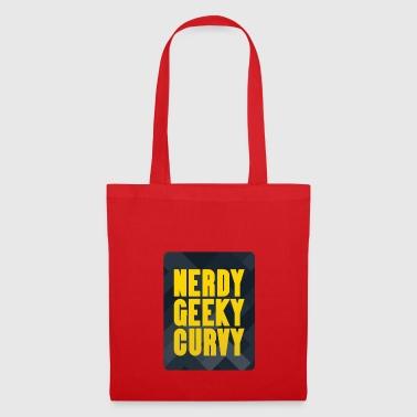 Sayings gift computer science nerd geek curvy party - Tote Bag