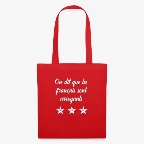 Français arrogants - Tote Bag