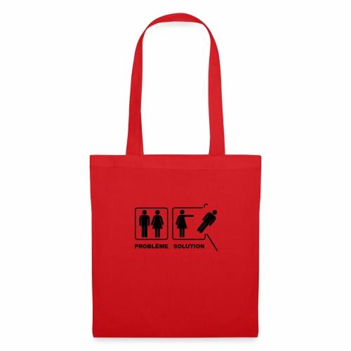 problème solution - Tote Bag