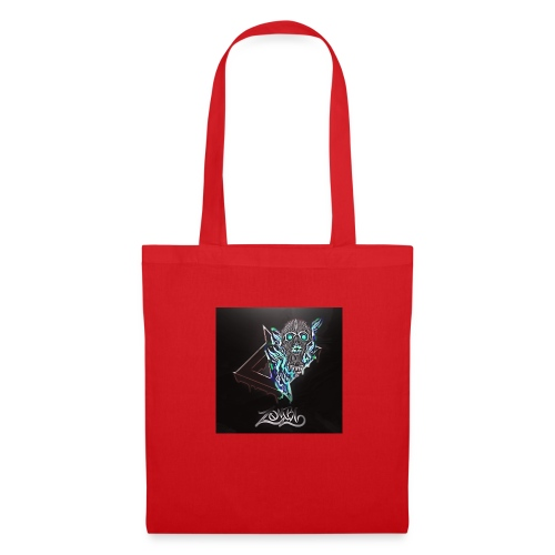 Space Zombii shirt logo design. - Bolsa de tela