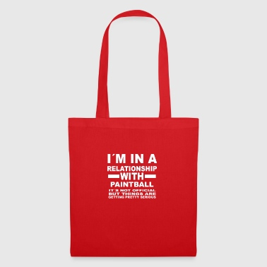Relationship with PAINTBALL - Tote Bag