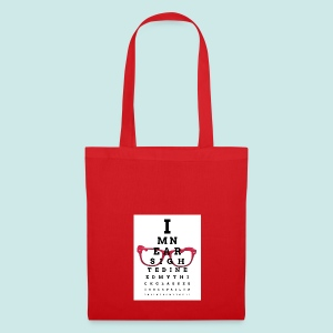 Eyechart Glasses Glasses - Tote Bag