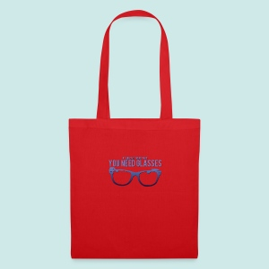 Need Glasses - Blue - Tote Bag