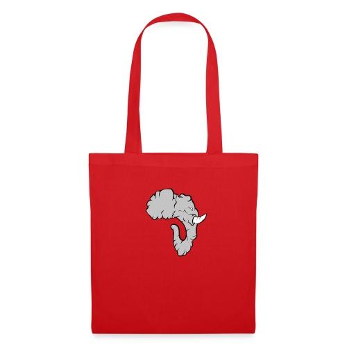 Elefante Perfil - Bolsa de tela