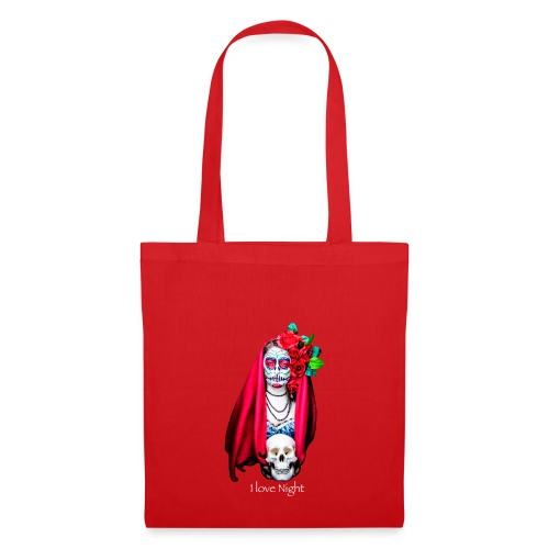 Catrina I love night - Bolsa de tela