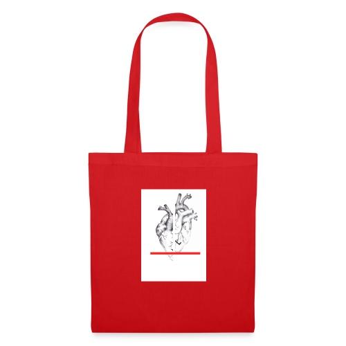 Le coeur flou et sa barre - Tote Bag