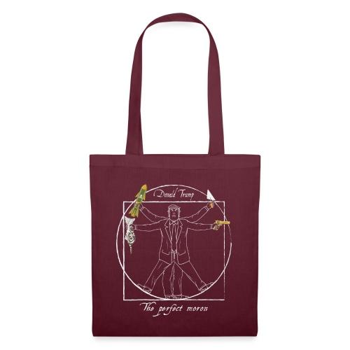 Trump: the perfect moron II - Anti-Trump design - Tote Bag