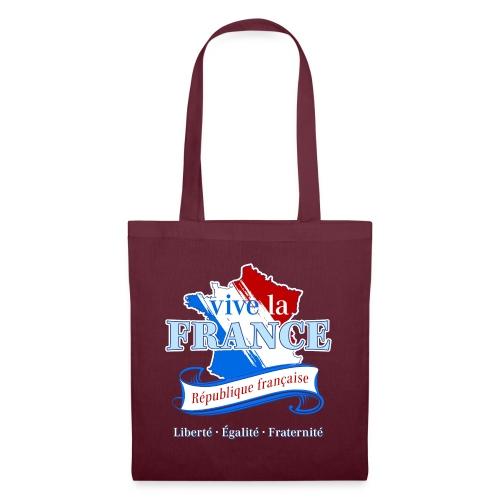 vive la France Frankreich République Française - Tote Bag