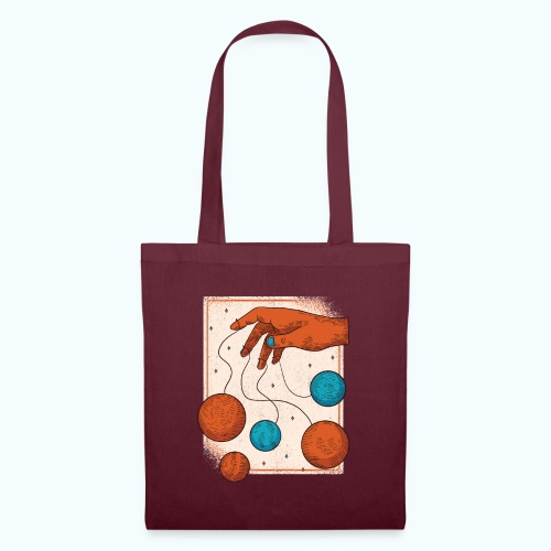 Planets On A String - Tote Bag
