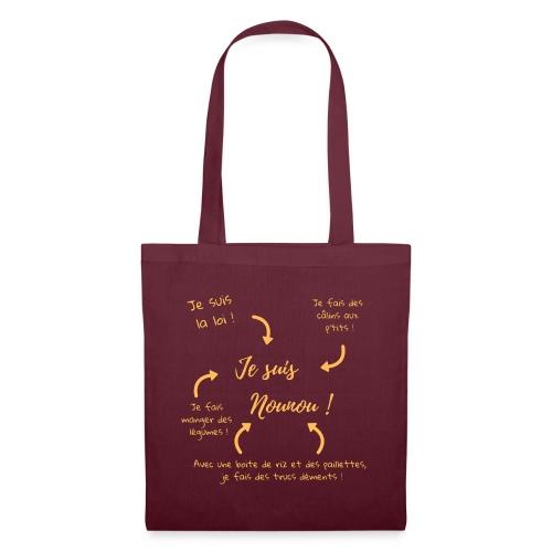 Je suis nounou clair - Tote Bag