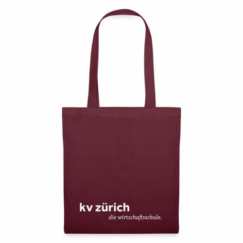 KVZ Logo Weiss - Stoffbeutel