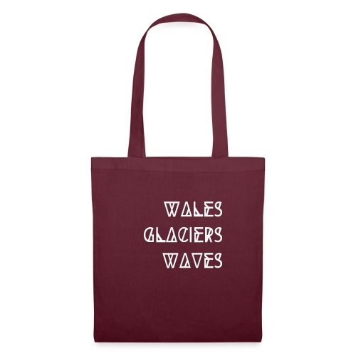 Wales - Glaciers - Waves - by PASSENGER X - Stoffbeutel