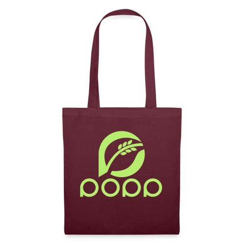 popp_logo_gruen - Stoffbeutel