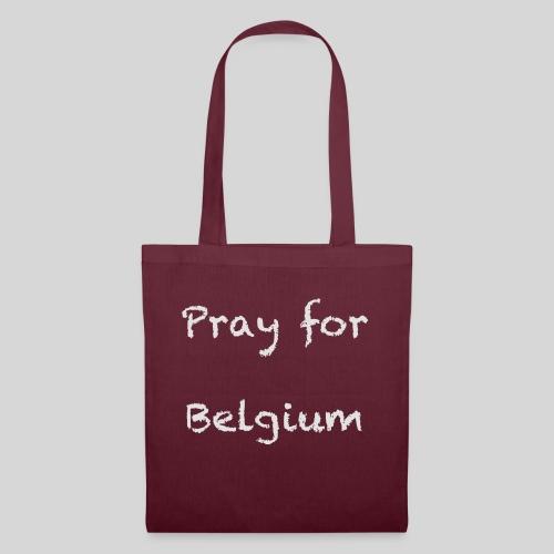 Pray for Belgium - Sac en tissu