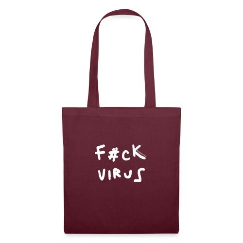F#ck virus!! - Bolsa de tela