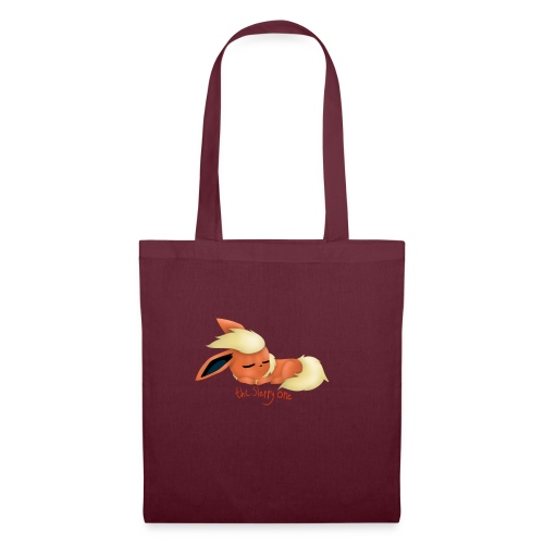 eevee - flareon - the sleppy one - Tote Bag