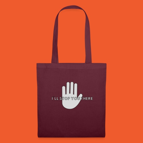 i ll stop you there 3 - Tote Bag