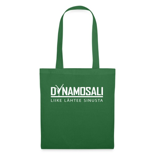 DynamoSali valkoinen - Kangaskassi