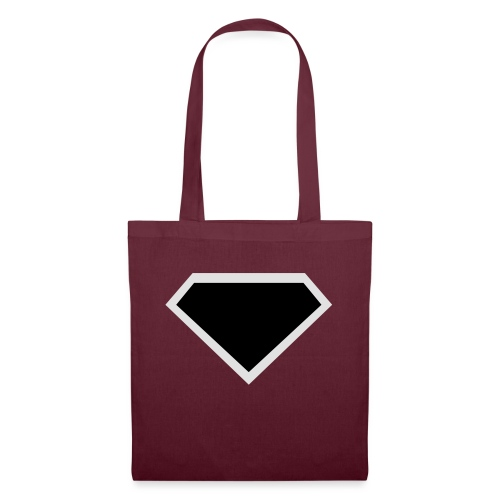Diamond Black - Two colors customizable - Tas van stof