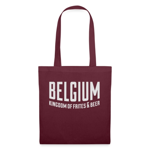 Belgium kingdom of frites & beer - Sac en tissu