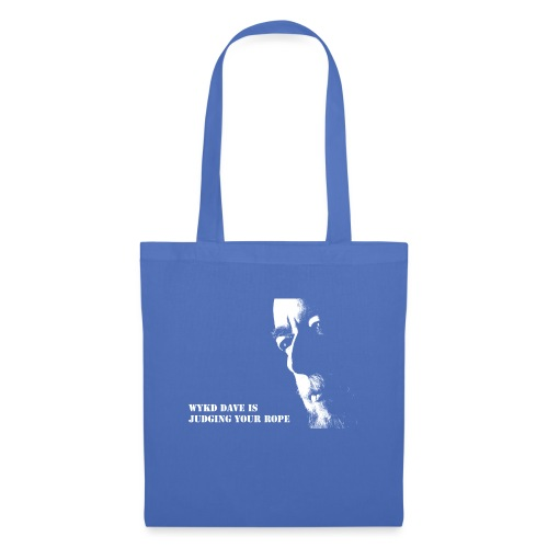WykD Dave is judging your rope (light on dark) - Tote Bag