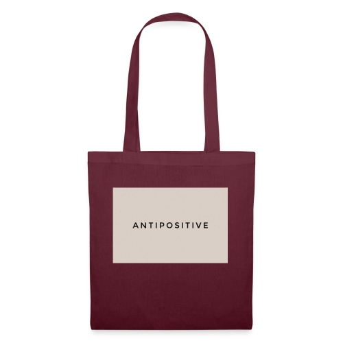 The first AntiPositive - Bolsa de tela