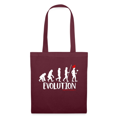 Die Evolution - Stoffbeutel