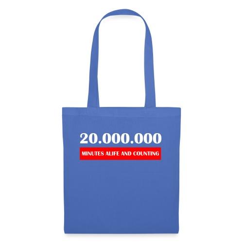 200000 Minutes Alive - Stoffbeutel