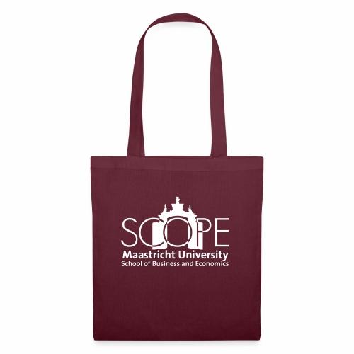 SCOPE Logo White - Tote Bag