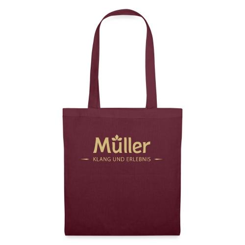 Logo Müller Gold - Stoffbeutel