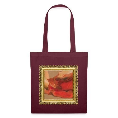 drape rouge - Tote Bag