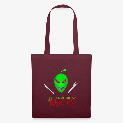 Alien's food - Tote Bag
