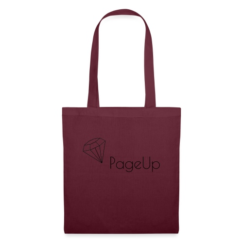 PageUp on logo snapback - Tote Bag